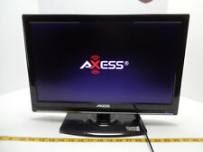 "Axess 18.5"" LED TV 12V 12 Volt Model TV1701-19 USB HDMI VGA RF A/V SKU H2 B"
