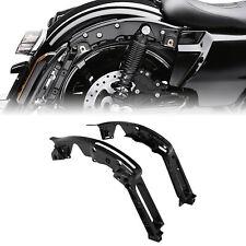 Gloss Black Fender Support Kit Fit For Harley Touring Street Glide FLHX 14-21