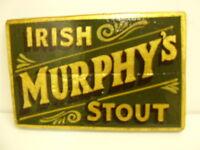 MURPHYS IRISH STOUT PUB BAR VINTAGE SIGN