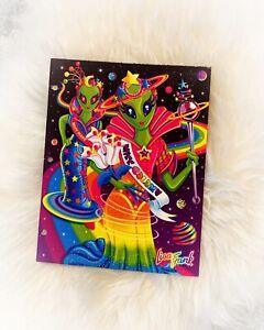 Lisa Frank Fantastic Fashion Groovy Aliens Miss Galaxy RARE Folder Portfolio
