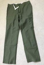 NEW MEN'S TOMMY HILFIGER FRED FIELD CUSTOM FIT PANTS MOSS GREEN 32X32 #58-22999
