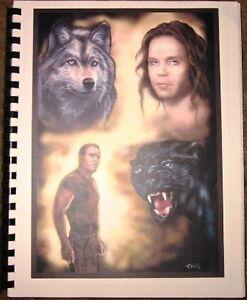 """Sentinel  Fanzine """"Love and Guns 5"""" SLASH 1998 Jim/Blair"""