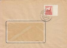 PLAUEN  -  MiNr:  4 y -  Randstück -  Einzelfrankatur auf  Bedarfsbrief.