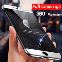 Shockproof Hybrid 360° Hard Case Protective Cover For Apple iPhone X 6S 7 8 Plus