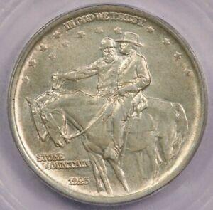 1925 Stone Mountain Classic Silver Commemorative Half Dollar ICG MS65