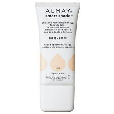 Almay Smart Shade Skin Tone Matching Makeup, Light [100] 1 oz (Pack of 3)