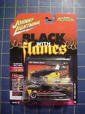 Johnny Lightning Hudson Hornet with Silver flame 1951 JLSP051 B 1//64