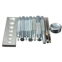 Craft Tool Die Punch Snap Rivet Setter Kit For DIY Leather Craft 11pcs