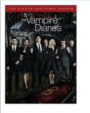 The Vampire Diaries: The Complete Eight and Final Season 8 ( DVD,3 DISC 2017 )