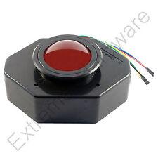 ultimarc u-trak 7.6cm Arcade trackball mit (rot lichtdurchlässig) - Mame, Jamma