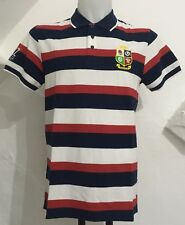 BRITISH AND IRISH LIONS 2017 S/S HOOP POLO SHIRT SIZE ADULTS MEDIUM BRAND NEW