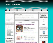 FILM CAMERA STORE - Ready Made Affiliate Website - Amazon+Ebay+Adsense+Dropship