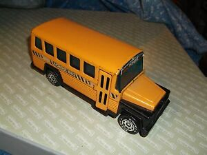 1980 Buddy L Corp School Bus Front Door Opens  Metal Plastic Some Surface Wear