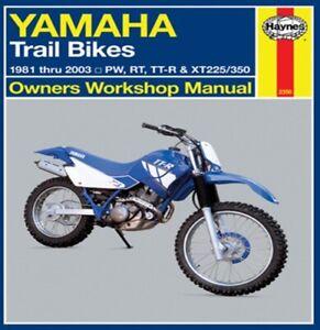 Haynes Yamaha Repair Manual - 2350 70-1086 HM2350 Motorcycle 70-1086 HM2350