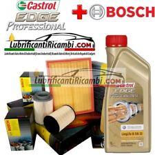 Kit tagliando olio CASTROL EDGE 5W30 9LT + 4 FILTRI BOSCH AUDI A6 (4F2, C6,4FH)