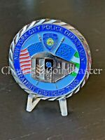 D34 NYPD New York Police Department Transit District 2 Two Challenge Coin