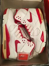 1989 Rare Vintage Original DS Deadstock Nike Air Flight 89 High Red 8.5