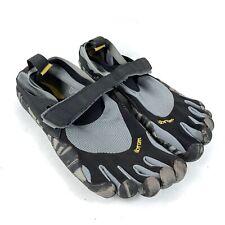 Vibram Five Fingers KSO Barefoot Running Shoes Men Sz 42/9.5-10 Black Gray M1485