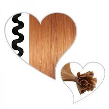 25 Ondulé Mèches Blond Cuivré #71, 55 cm, Vrais Cheveux, Ondulé, 55cm