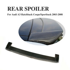 Carbon Fiber Rear Roof Spoiler Sport Style Window Wing Fit for Audi A3 2003-2008