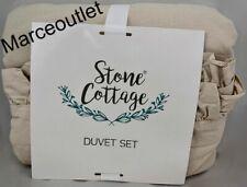 Stone Cottage Asher Cotton FULL / QUEEN Duvet Cover & Shams Set Linen