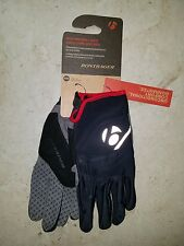 Bike Gloves Bontrager Race Windshell Glove BLACK WITH RED TRIM EXTRA LARGE 2