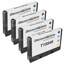 4pk Picturemate 200 Series Photo T5846 Inkjet Cartridge for Epson Remanufactured
