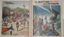 1935 Mostro marino Canova Umberto di Savoia Torre Annunziata Palio d Asti Gatti