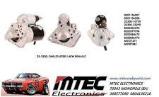 Motor de arranque M0T87881 M0T21471 Renault Modus, Kangoo Megane Twingo
