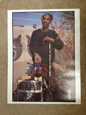1994 St. Ides Malt Liquor Brewing Co. - Snoop Dogg Poster - Rare - Unused.