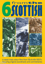 6 from the Scottish Six Day Trials DVD - 6 colour films from 50s & 60s SSDT *NEW