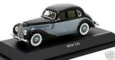 Rare 1/43 scale Schuco 450223600 BMW 335 limousine black/grey MIB