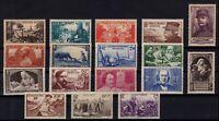 PP134211/ FRANCE / LOT 1940 MINT MNH CV 200 $
