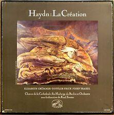 3 LP BOX EMI HMV Haydn LA CREATION Forster GRUMMER FRICK TRAXEL FALP 705-707