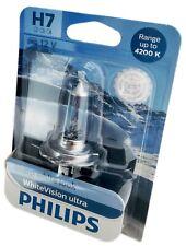 H7 Philips White Vision Ultra +60% 4200K 1er Blister 12972WHUB1