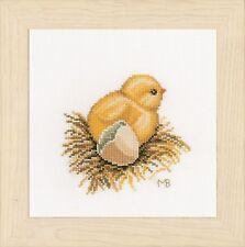 Little Chick - 1 (Aida)  :  Lanarte Counted Cross Stitch Kit - PN0165382