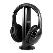 Kopfhörer Funk-Kopfhörer Headset wireless kabellos Kopfbügel Stereo Media-Tech