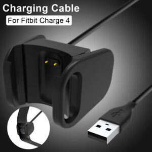 USB Charging Cable Portable Durable Charger For Fitbit Charge 4 Smart WatchBDDB