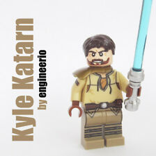 Custom Kyle Katarn Star Wars minifigures Rebel Pilot jedi lego bricks