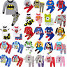 Kids All Season Pyjamas Boy Girl Outfits Sets PJS Sleepwear Nightie Tshirt 1-10Y