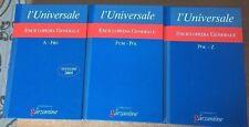 Enciclopedia Generale l'Universale 3 volumi  2005