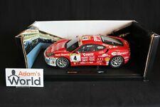 Hot Wheels Elite Ferrari 430 Challenge 2006 1:18 #4 Andrea Belluzzi (ITA) (PJBB)
