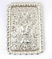 Antique Solid Silver Repousse