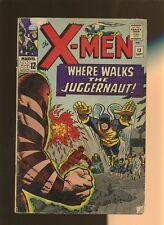 X-Men 13 GD/VG 3.0 * 1 Book * Where Walks the Juggernaut! Lee,Kirby,Gavin!