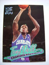 Charlotte Hornets Original Single Modern (1970-Now) Basketball Trading Cards