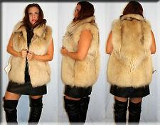 New Finnish Raccoon Fur Vest Size Medium 6 8 M Efurs4less
