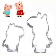 Peppa Pig Shape Cookie Cutter Set Cake Decoration Fondant Topper Kitcjen JJ