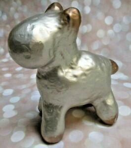 "1994 Dennis Pearson Beastie Sculpture, Silver & Copper Pop-Art Figure, 6"" Tall"