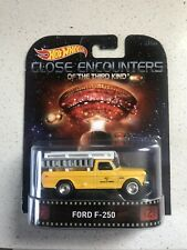 Hot Wheels 2015 Retro Entertainment Series  Close Encounters Ford F-250 Yellow