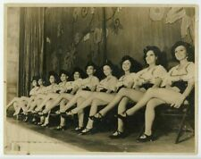 Black Vaudeville 1930 Showgirls 11x14 Photo African American Theater Burlesque